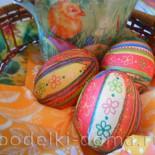 Декупаж пасхальных яиц, мастер-класс