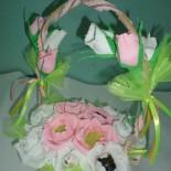 «Нежность» — сладкая корзинка к свадьбе
