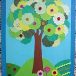 «Дивный сад» (аппликация – картина)