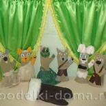 Домашний кукольный театр. Сказка «Варежка»