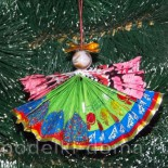 Елочные игрушки из фантиков от конфет