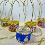 Елочные игрушки барабаны