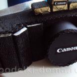 Фотоаппарат из конфет и банки кофе