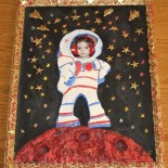 Рамка в рамке «Космонавт на Марсе»