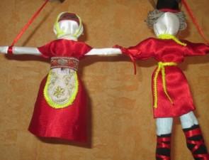 Мастер-класс. Свадебная кукла «Неразлучники»