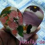 Коробочка в форме сердца
