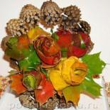 Поделки из шишек, листьев, семян, соломки (вторая часть)