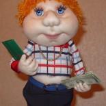Кукла из капрона «Босс» (мастер-класс)