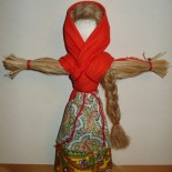 Народная кукла Кострома (Масленица)