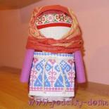 Кукла Крупеничка (Зерновушка) — мастер-класс