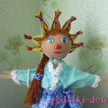 Еще одна кукла от Ольги Пивневой