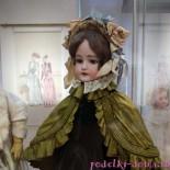 """Выставка кукол """"Мода по-взрослому. Истории из старинного кукольного гардероба"""""""