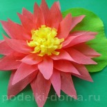 Цветы из бумаги своими руками — 63 варианта