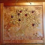 Панно «Золотое деревце»