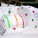 Постройки из снега МБДОУ № 267 (продолжение…)