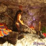 Пещера Апача и игрушечный огонь