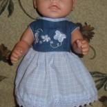 Платье для куклы Беби Борн