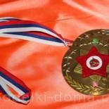Медаль к 23 февраля — поделка из диска