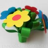 Букеты цветов из бумаги своими руками