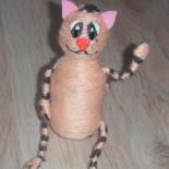 Игрушка-сувенир «Рыжий котик»