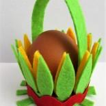 Подставки для яйца из фетра. Мастер-классы