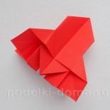 Ракета из бумаги (оригами) — 2 варианта