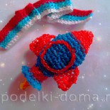 Ракета (плетение из резинок)