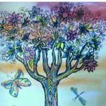 Сказочное дерево. Мастер-класс по рисованию
