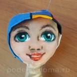 Рисуем лицо кукле