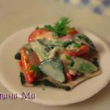 Еда для кукол — салаты