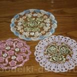 Салфетки для бабушки на 8 Марта