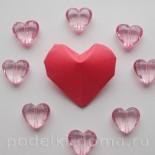 Сердечки из бумаги, объемные. 7 вариантов