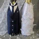 Шампанское на свадьбу «Жених и невеста»