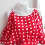Женская летняя кофточка с открытыми плечами, шьем за один день