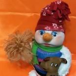 Снеговик с символом года