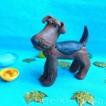 Собаки из пластилина, 6 вариантов, поэтапно