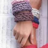 «Модные браслеты. Вяжем крючком» часть 2