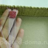 Станок для плетения бисером (своими руками)