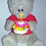 Кукольный торт из резиночек