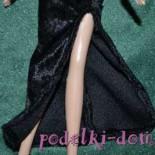 """Мастер-класс """"Вечернее платье для куклы"""""""