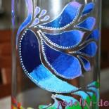 Роспись стеклянной вазы (мастер-класс)
