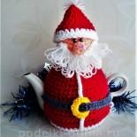 Грелка на чайник «Санта Клаус»