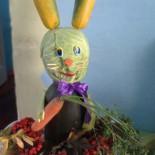Поделка из овощей «Огородный зайчишка»