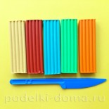 Лепка из пластилина для детей 2 — 4 лет