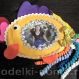 Рамочки для фотографий: «Золотая рыбка» и «Новогодняя»